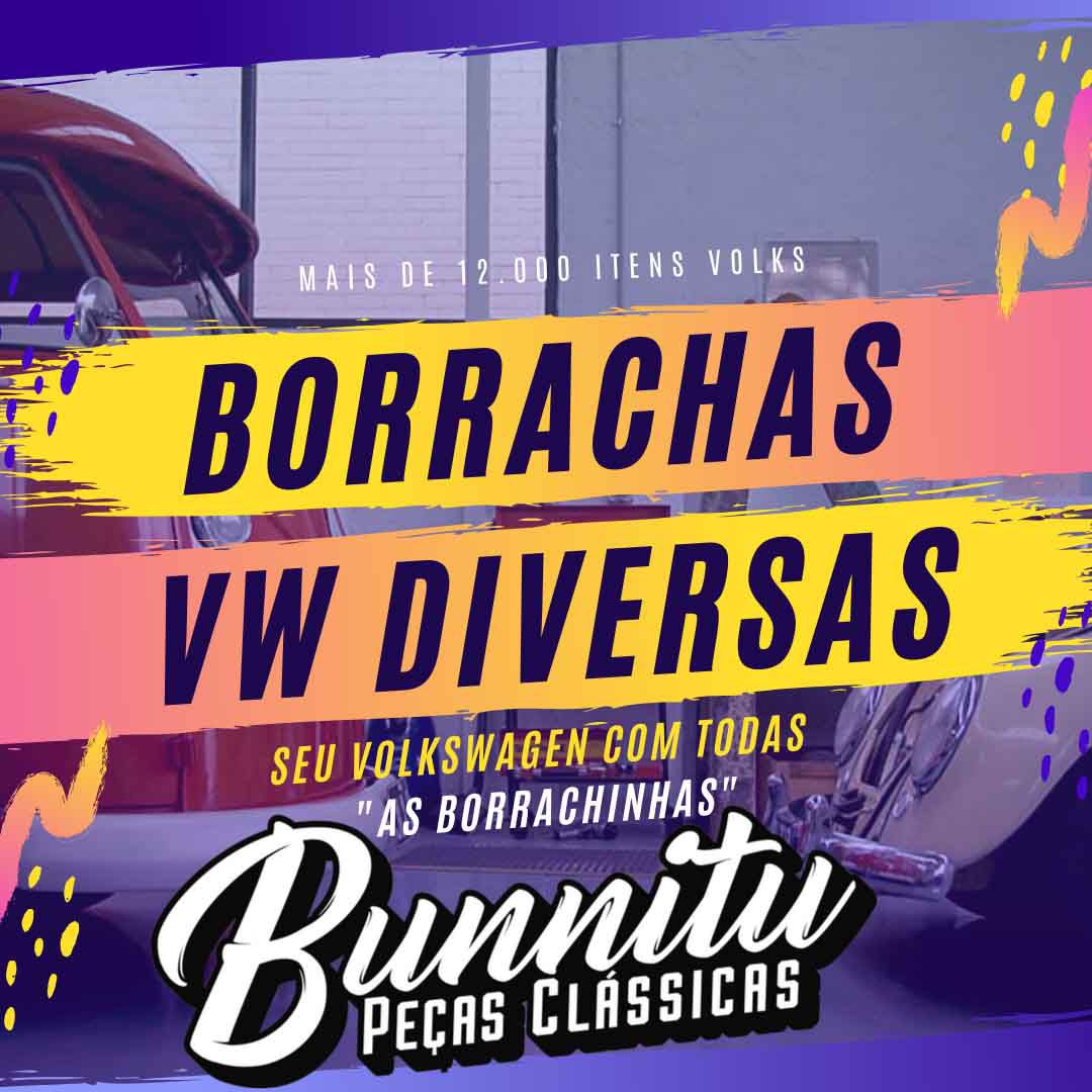Borracha Passa fio Original VW da lanterna traseira modelo grande para Fusca  - Bunnitu Peças e Acessórios