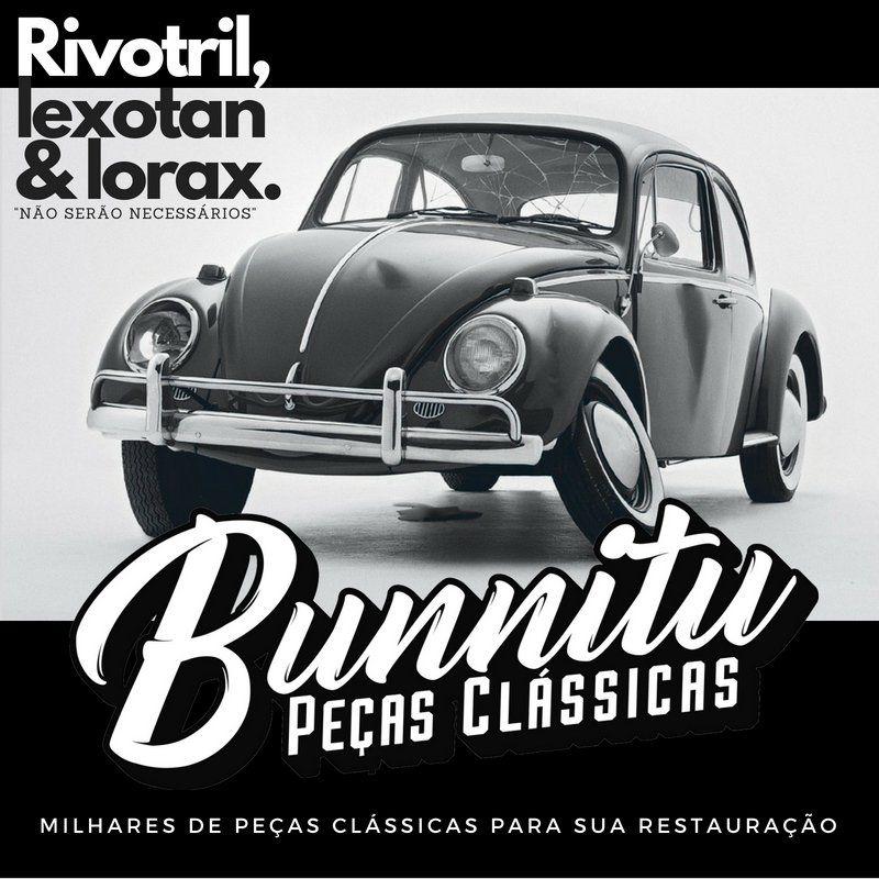 Pé de coluna VW Fusca - Zito Pereira - Lado do Motorista  - Bunnitu Peças e Acessórios