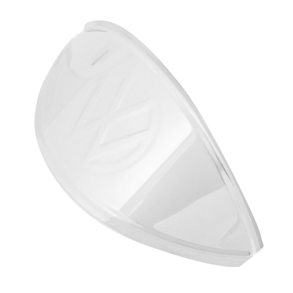 Pestana em Inox com Logo para farol do VW Fusca  - Bunnitu Peças e Acessórios