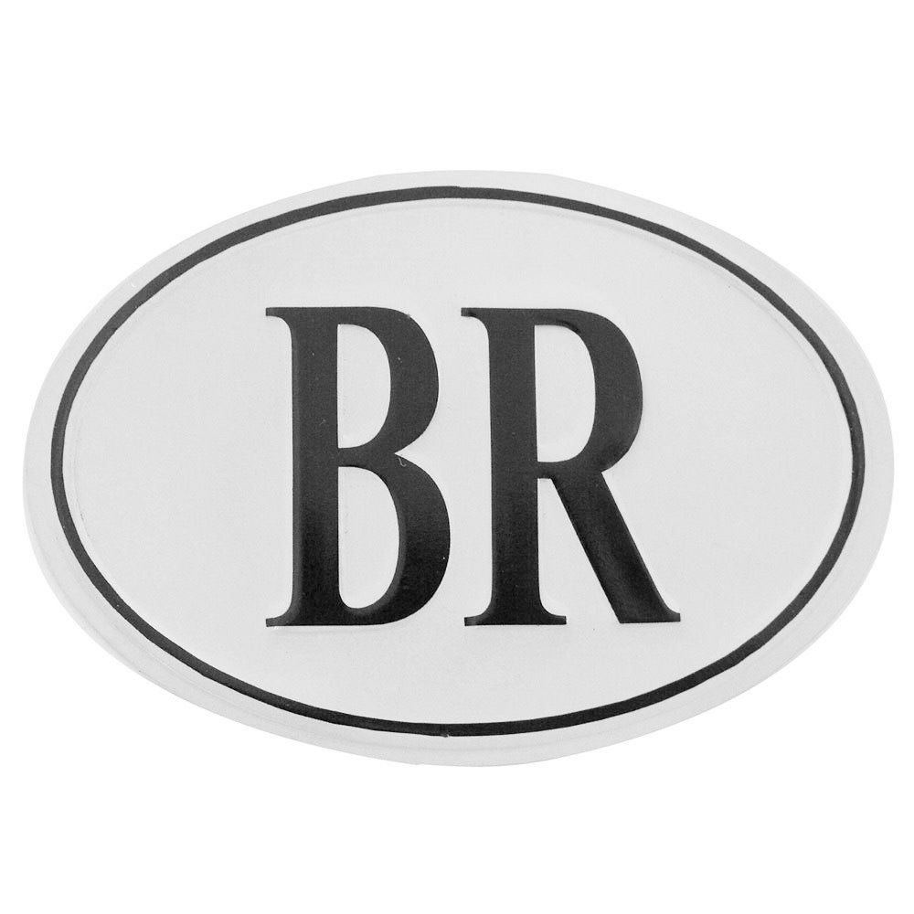 Plaqueta BR para carros antigos  - Bunnitu Peças e Acessórios