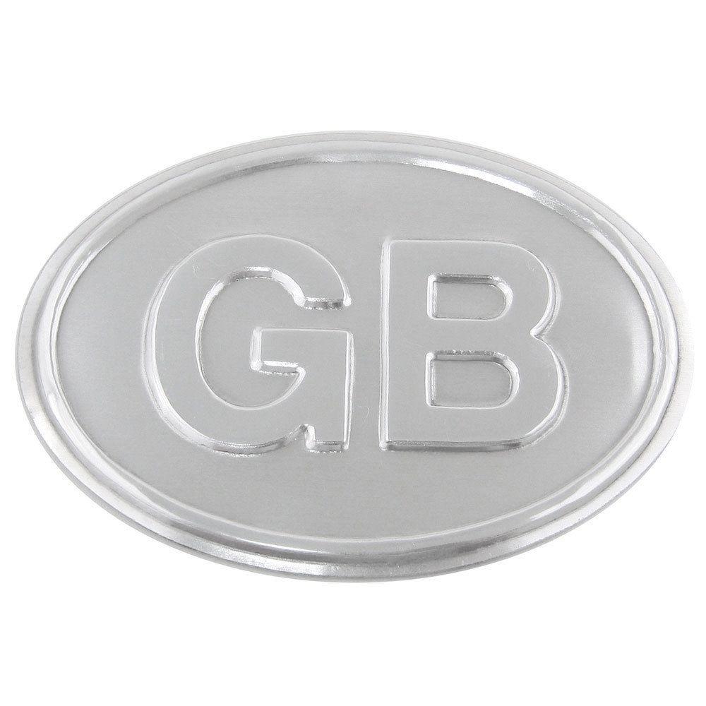 Plaqueta GB - Grâ Bretanha para carros antigos  - Bunnitu Peças e Acessórios