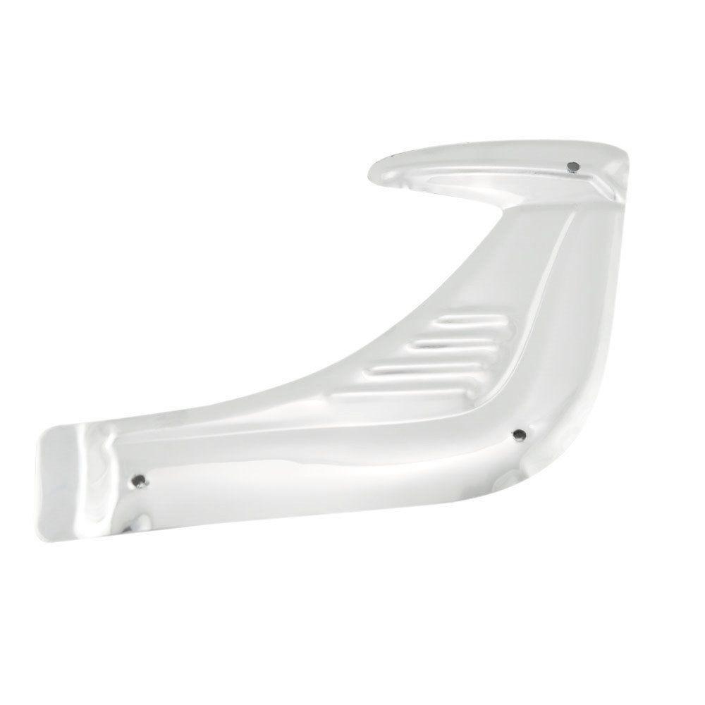 Polaina de aluminio do para-lamas para VW Fusca - Dianteiro  - Bunnitu Peças e Acessórios