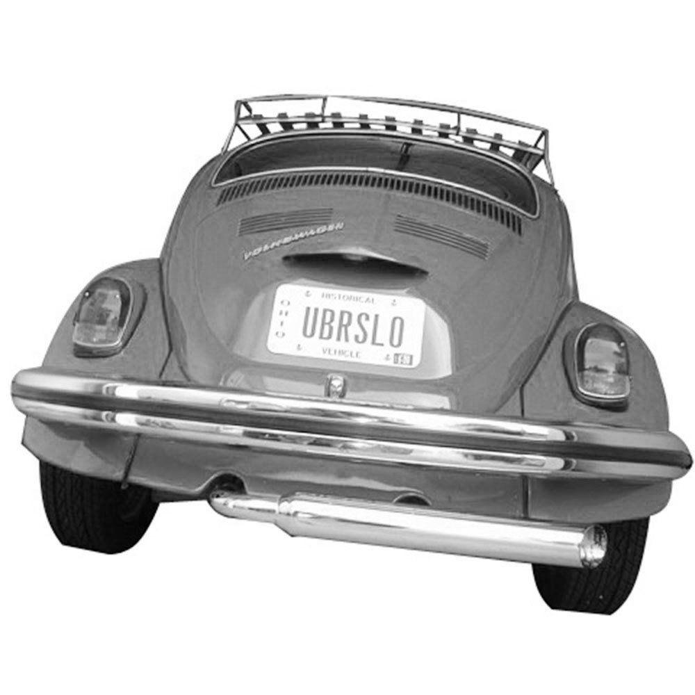 Ponteira de escapamento modelo ZOOM TUBE linha exportação para VW Fusca  - Bunnitu Peças e Acessórios