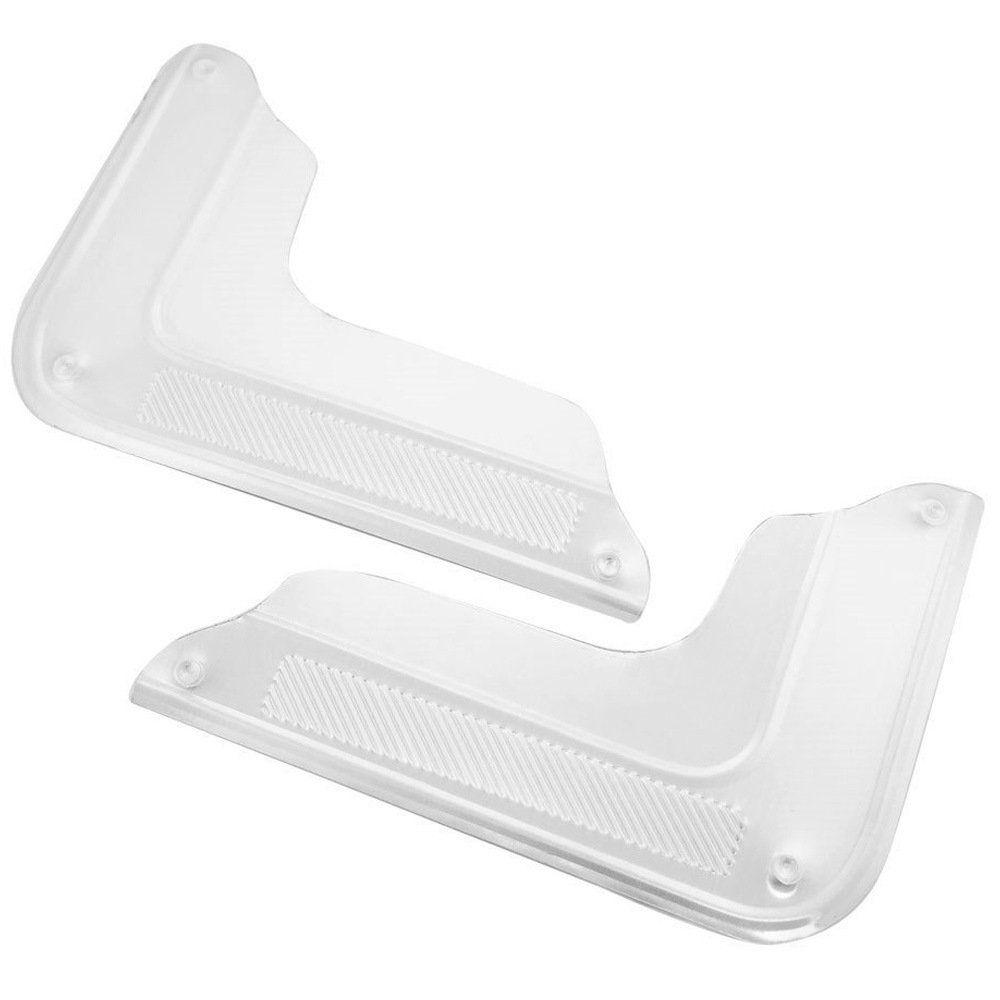 Protetor de canto de porta modelo largo de inox para VW Fusca  - Bunnitu Peças e Acessórios