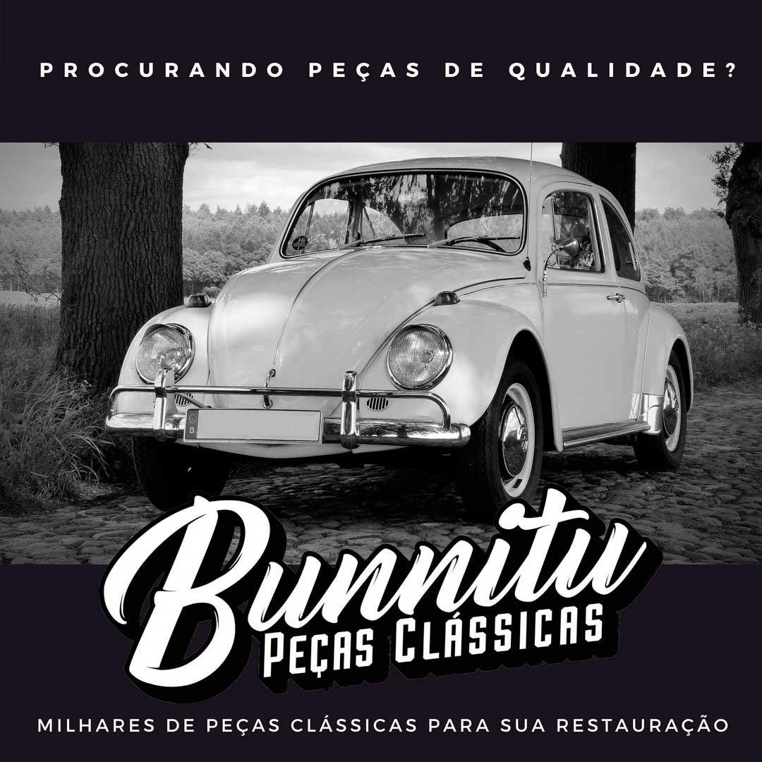 Refletor de farol para VW Fusca 1963 à 1972 e Kombi até 1974  - Bunnitu Peças e Acessórios