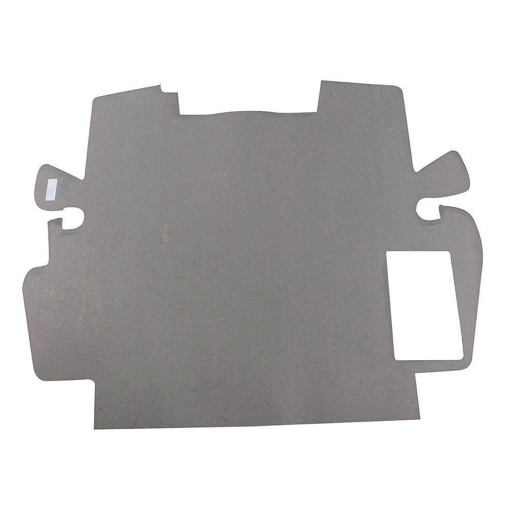 Revestimento de papelão pintado na cor preta para Capô VW Fusca Itamar 1993 à 1996  - Bunnitu Peças e Acessórios