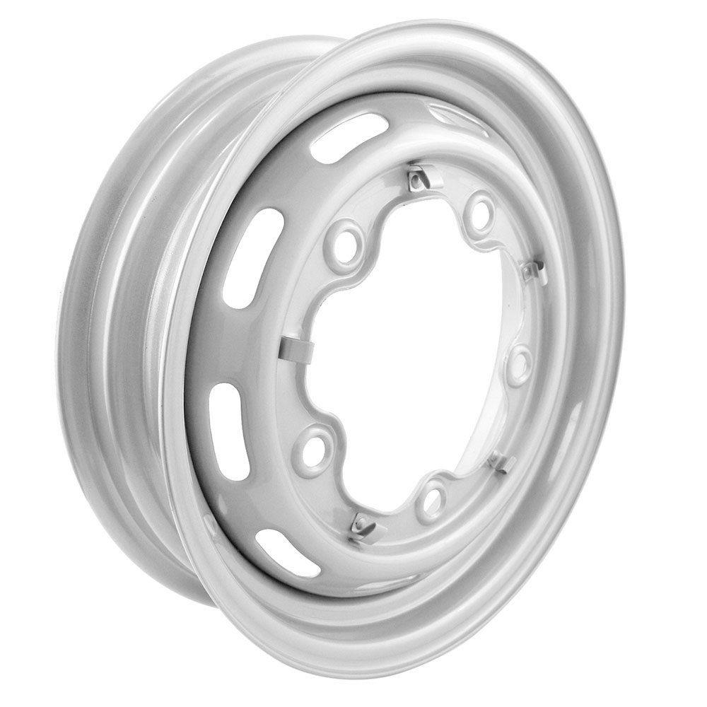 """Roda de aço aro 15 Modelo 4"""" para VW Fusca 1200 e 1300  - Bunnitu Peças e Acessórios"""