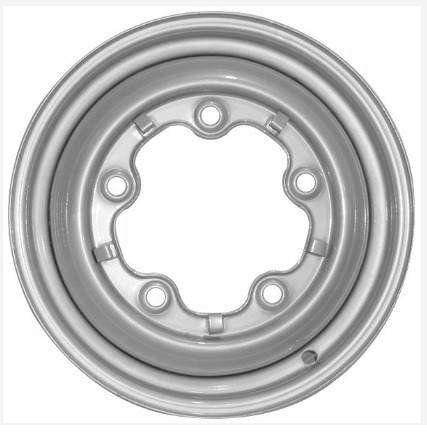 Roda de aço aro 15 para VW Fusca 1200 5 furos modelo fechada  - Bunnitu Peças e Acessórios