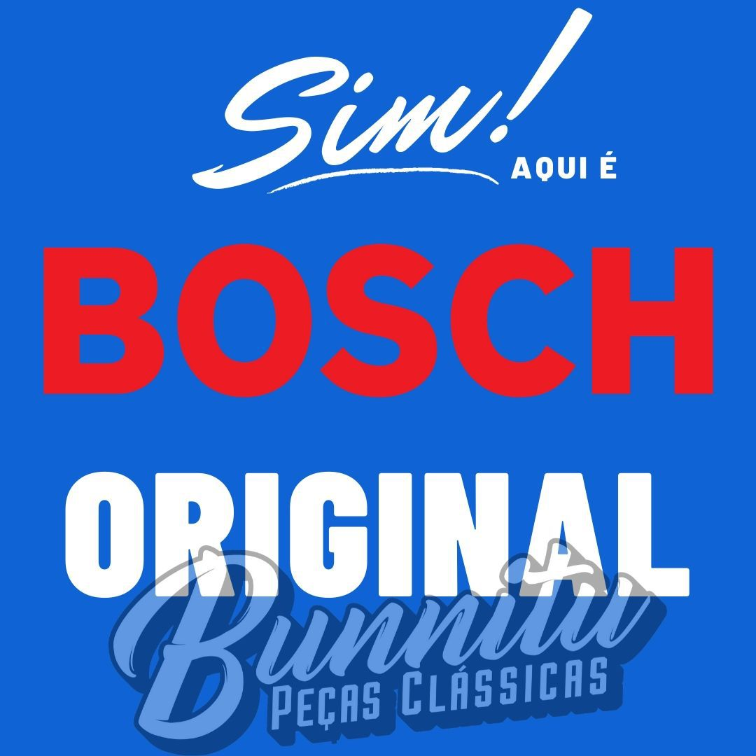 Rotor Bosch para distribuidor VW Fusca, Kombi, Karmann Ghia, TL e Variant  - Bunnitu Peças e Acessórios