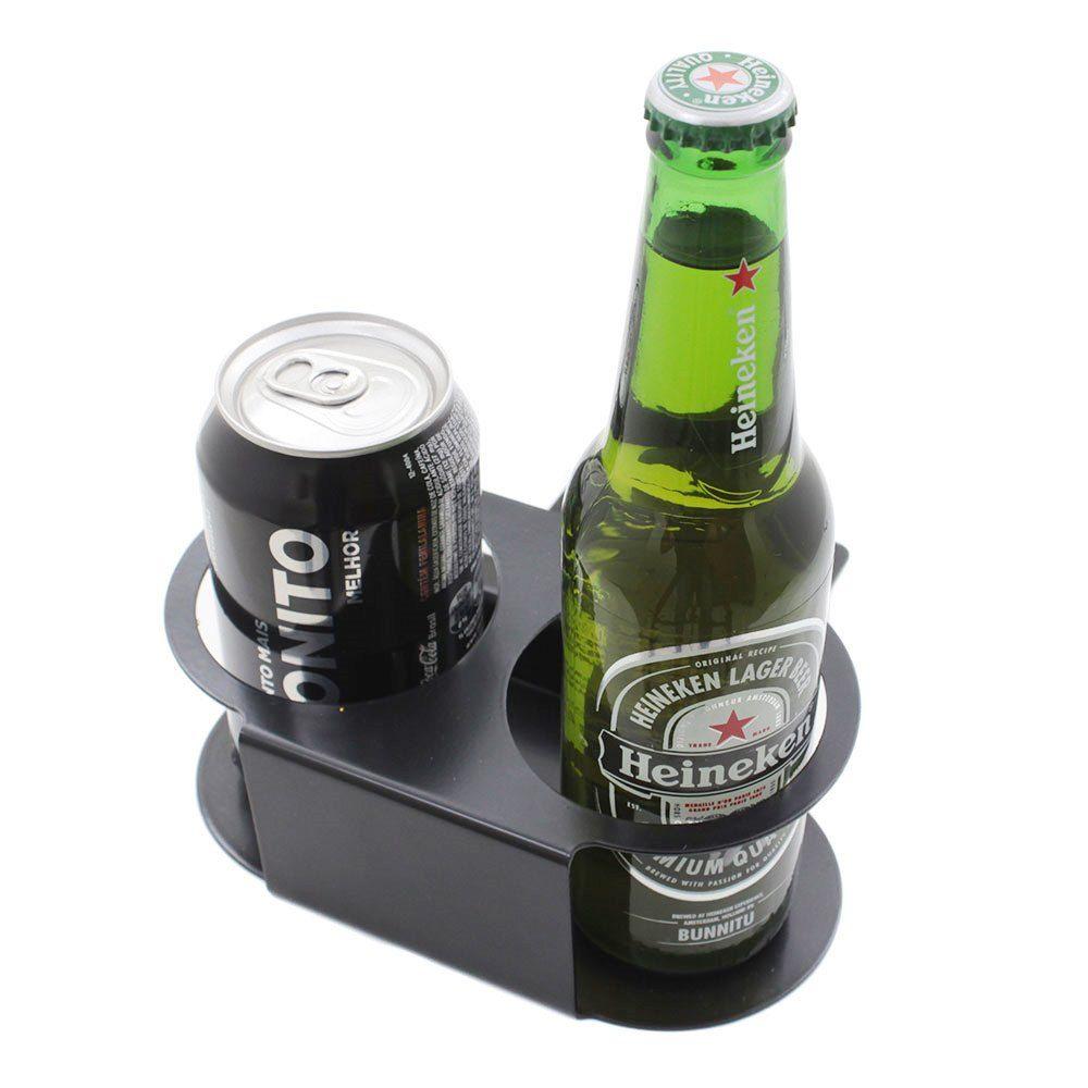 Suporte de copo garrafa bebidas Painel VW Kombi 1976 à 2013  - Bunnitu Peças e Acessórios