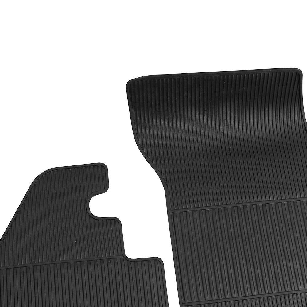 Tapete de borracha 4 peças para VW Fusca  - Bunnitu Peças e Acessórios