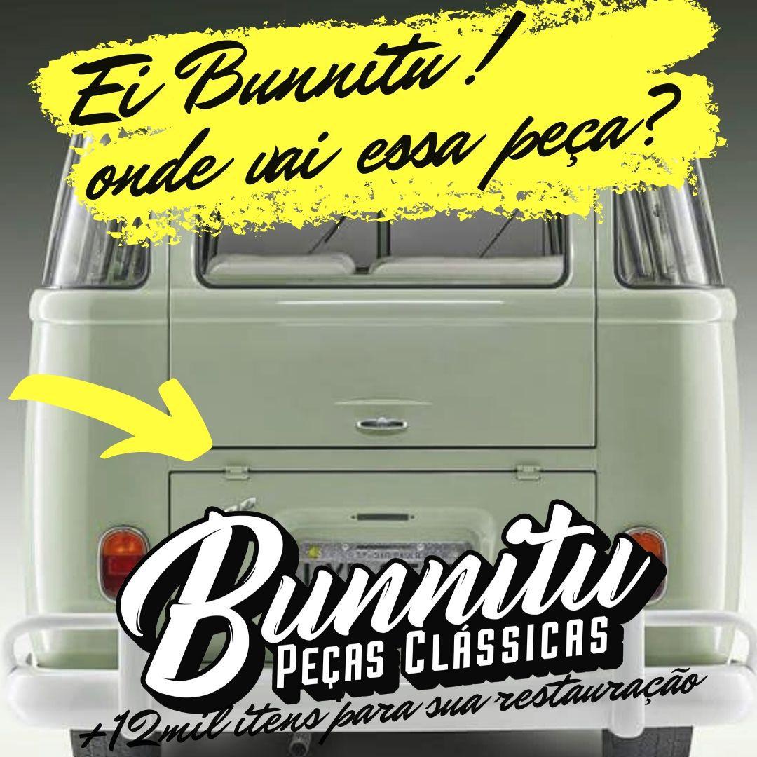 Travessa da tampa do motor VW Kombi 1957 à 1982 - Marca Estriguaru  - Bunnitu Peças e Acessórios