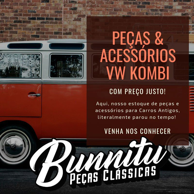 Trinco do vidro janela lateral móvel modelo liso botão cor preto para VW Kombi até 1975  - Bunnitu Peças e Acessórios