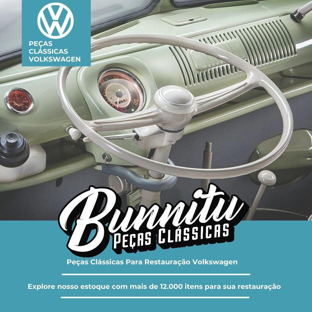 Trinco Trava Quebra Vento Cromado VW Fusca até 1970 Kombi até 1974 - Lado Passageiro  - Bunnitu Peças e Acessórios