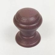 Puxador para Móveis Botão 1 Furo Modelo Kole em Alumínio Corten
