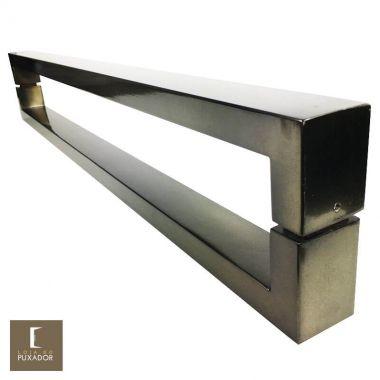 Puxador Para Portas Duplo em Aço Inox 304 Modelo Hércules Antique Ouro Velho para portas: pivotantes/madeira/vidro temperado/porta alumínio e portões