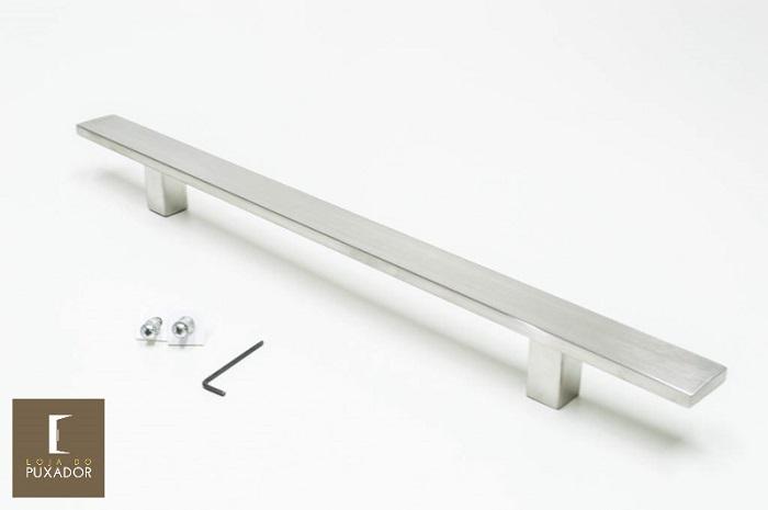 Puxador 1 LADO Aço Inox Escovado