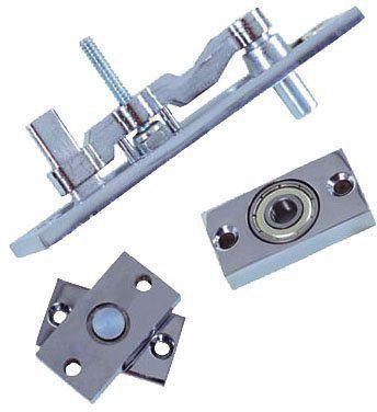 Dobradiça para porta Pivotante c/ Rolamento portas até  100 KG - UNIÃO MUNDIAL POLIDO  - Loja do Puxador