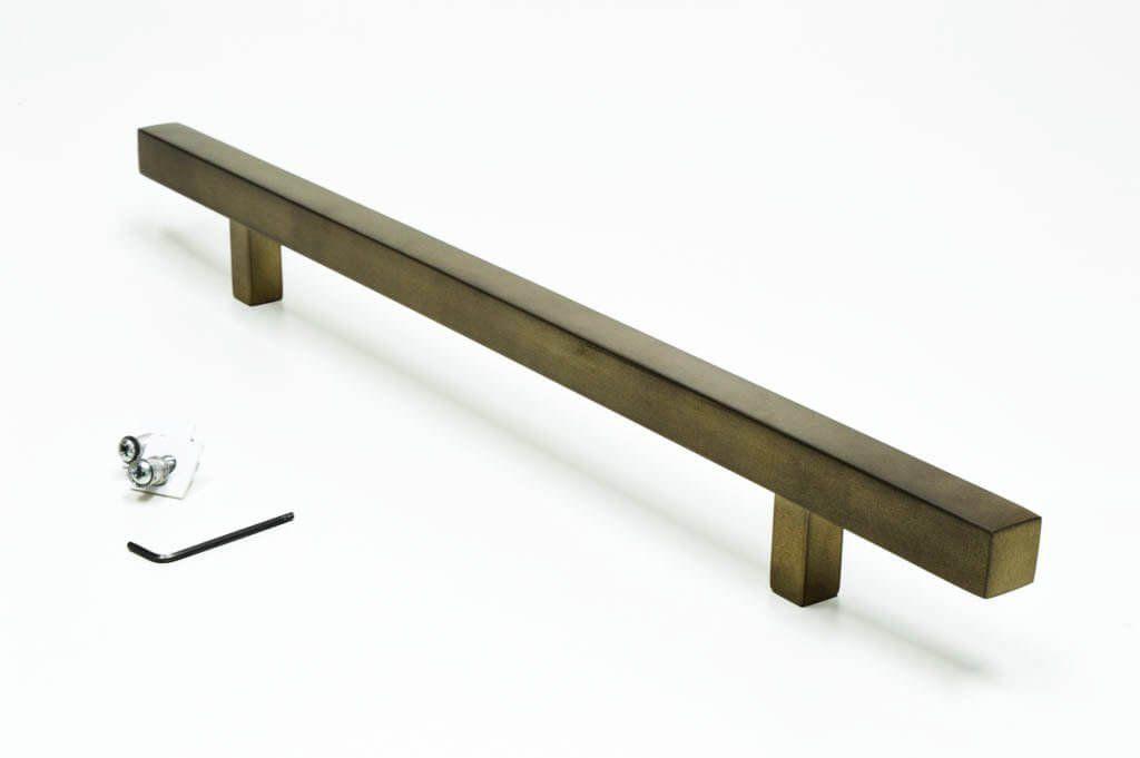 Puxador Para Portas  1 LADO OURO VELHO ANTIQUE - ARISTOCRATA .  - Loja do Puxador