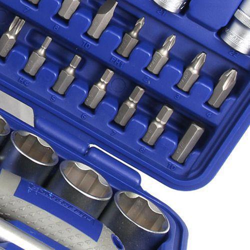 Jogo de Soquetes Profissional  Cromo Vanadio 94 Peças 1/2 ´´ - mss941214 Michelin