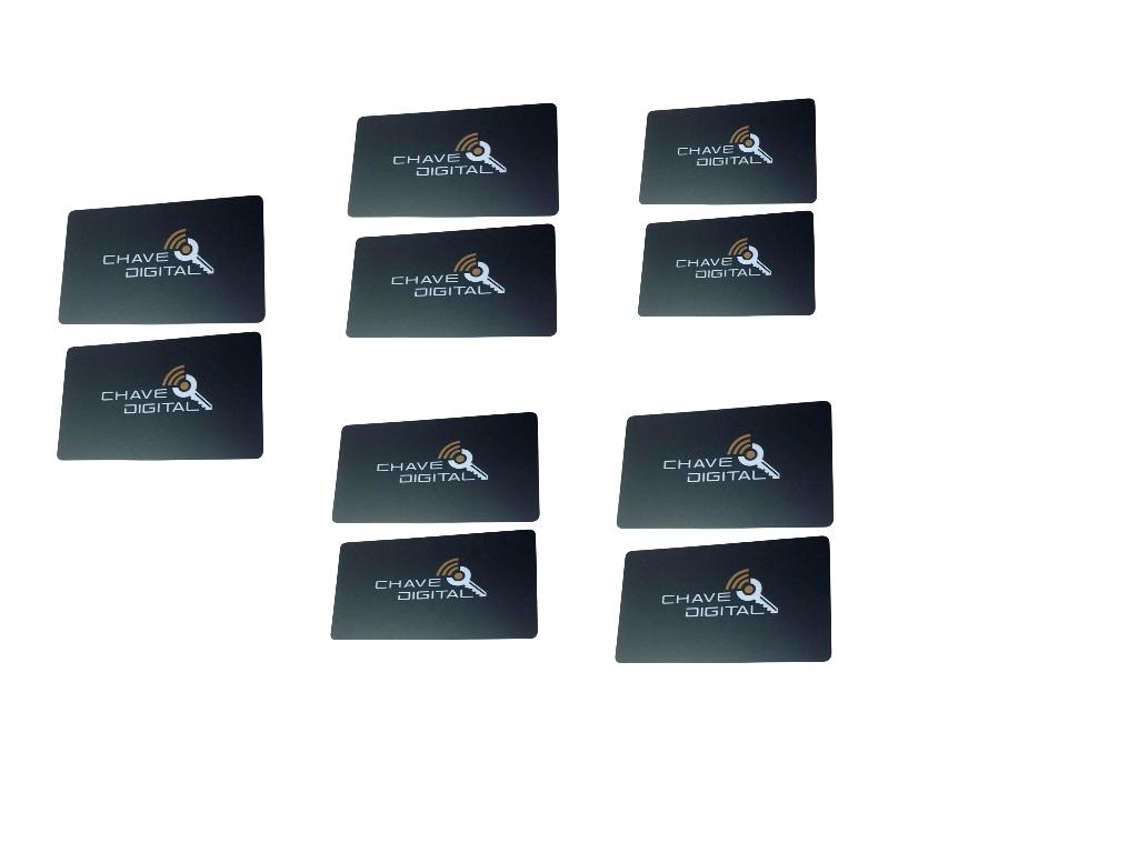 Kit 10 Chave Digital Aproximaçâo Card 125khz -Ultra Card Agl