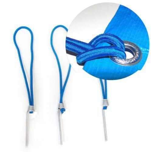Pino Elástico Selado Azul p/ Capa Piscina CapaKit
