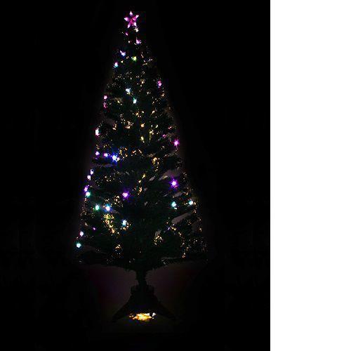 Arvore Natal Fibra Ótica Led 1,5m 180 Galhos 2700 Brilhos  + Brinde Bivolt 3,5kg - Natália Chr