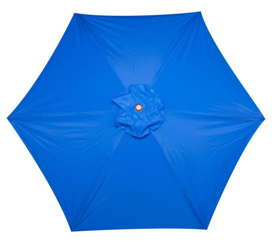 Guarda Sol Ombrelone 2,4m Madeira 8 Varas Azul Yankee