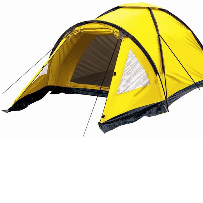 Barraca Camping Cipó Varanda 4 Pessoas Amarela - Yankee