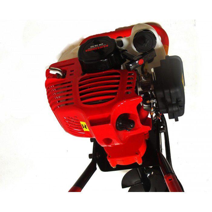 Perfurador de Solo Motor 2t gasolina 52cc - kwed-52  Kawashima