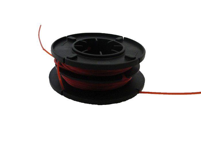 Refil - Carretel fio de Nylon para Aparador e Cortador de Grama - 2 fios de 3m - CID *