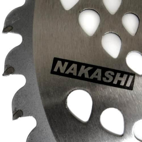 Lâmina Roçadeira 62 D Vídea 255mm  Furo 25,4  x  1,4mm - Nakashi