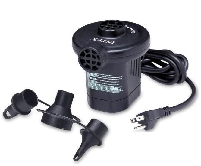 Bomba de Ar Elétrica 127V para colchão  - Intex