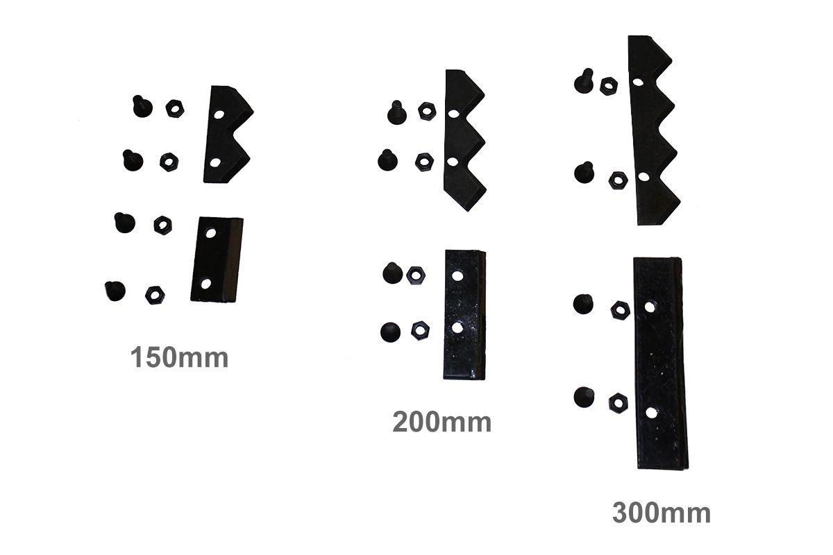 Lamina Faca para Broca de Perfurador Solo  300mm  Kawashima