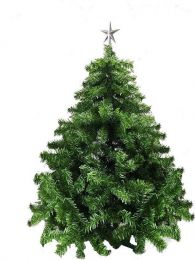 Arvore de Natal Pinheiro Imperial 1,50m verde 545 galhos 6,5kg + brinde - Natalia Chr