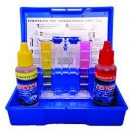Teste Ph/Cloro Kit completo p Medir Alcalinidade Pi - Netuno