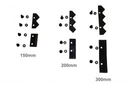 Lamina Faca para Broca de Perfurador Solo 250mm - Kawashima