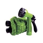 Mangueira Mágica Flex-Hose 15m + Gatilho 7 Funções Verde - Reinstar