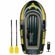 Bote Inflável Intex Seahawk 200 2,36m + Remos e Fole #68347
