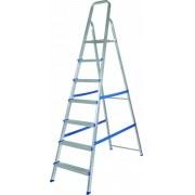 Escada de Alumínio 7 Degraus 120Kg - M Mor