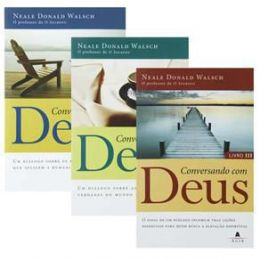 Livro Conversando com Deus Vol I, II, III Neale Donald Walsh ( Kit Completo )
