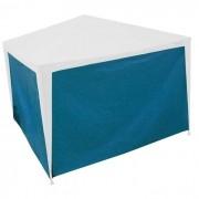 Parede para Tenda Gazebo 2x2m Azul Com Amarras - Capakit