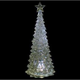 Enfeite de Natal Árvore Acrílico 39cm C/Iluminação - Natalia Christmas