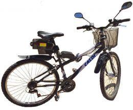 Kit Bicicleta Eletrica 36V 250W H-Bike Montado na Caloi