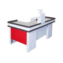 Caixa Check-Out Completo Vermelho 150cm - SaGôndolas
