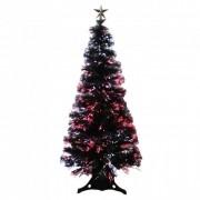Árvore de Natal Fibra Ótica Led 90cm + Brinde 2,1kg Yangzi