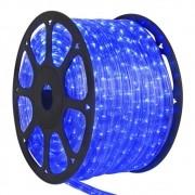 Mangueira de LED 50m Natal 2 funções 127V  Azul - 14087 Yangzi Magizi