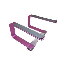 Suporte Elevado Curv Djs Rose Notebook MacBook 9 a 17""