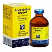 Anestesico Bravet 50ml Injetável