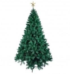 Árvore Natal Pinheiro Dinamarca 1,50m 345G + Ponteira Magizi